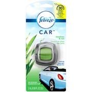 Febreze Car Vent Clip Meadows and Rain Air Freshener, 0.06 Fluid Ounce -- 8 per case.