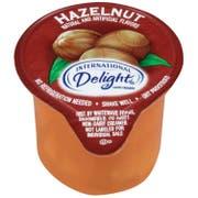 International Delight Classic Hazelnut Gourmet Coffee Creamer, 13 Milliliter -- 288 per case.