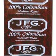 JFG Medium Roast 100 Percent Colombian Portion Pack Coffee, 1.75 Ounce -- 72 per case.