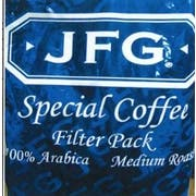 JFG 100 Percent Arabica Medium Roast Special Blend Coffee, 2 Ounce -- 70 per case.
