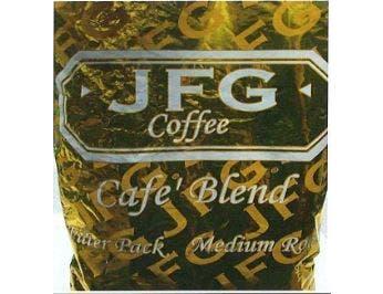 JFG Medium Roast Coffee Cafe Blend - Filter Pack, 1.3 Ounce -- 42 per case.