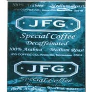 JFG Special Blend Decaf Coffee, 2 Ounce -- 72 per case.
