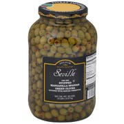 Seville 340/360 Stuffed Manzanilla Queen Olive, 1 Gallon -- 4 per case.