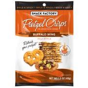 Pretzel Crisps Buffalo Wing Pretzel Crackers, 1.5 Ounce -- 24 per case.