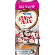 Nestle Coffee Mate Salted Caramel Chocolate Liquid Coffee Creamer, 50 count per pack -- 4 per case.