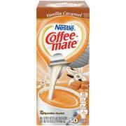 Coffee Mate Creamer Vanilla Caramel, 0.374 Fluid Ounce -- 4 per case.