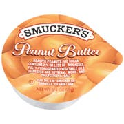 Smuckers Smuckers Peanut Butter, Single Serving Packs, 3/4oz, 200/Carton