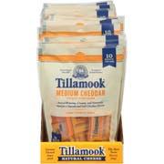 Tillamook Medium Cheddar Cheese, 7.5 Ounce -- 12 per case.