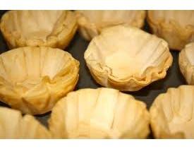 Grecian Delight Mini Fillo Shells -- 90 per case.