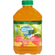 Thick and Easy Nectar Consistency Thickened Peach Mango Drink, 46 Ounce -- 6 per case