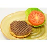 Phillips Gourmet Lightly Seasoned Ground Beef and Mushroom Patty -- 40 per case.