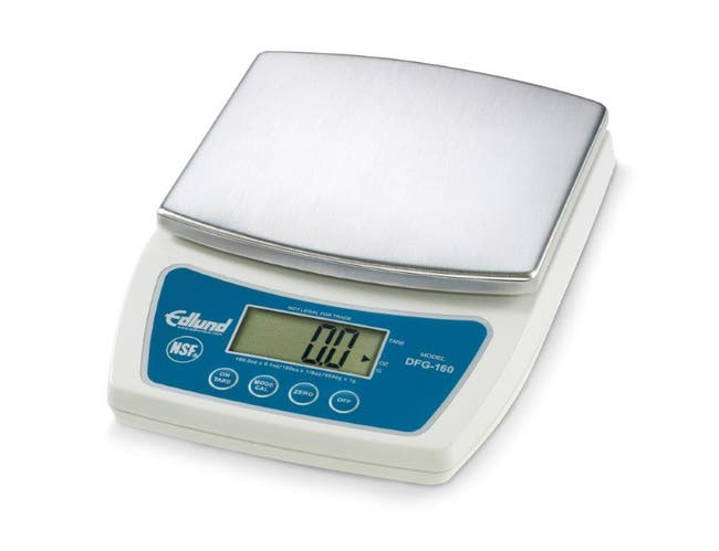 Edlund DFG Series Digital Portion Control Scale, 160.0 oz. x 0.1 -- 1 each.