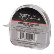 Bar Maid Sani Maid Quaternary Sanitizer Test Paper - 100 per pack -- 12 packs per case.