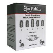 Bar Maid Universal Brush Set, 6 inch -- 5 per case.