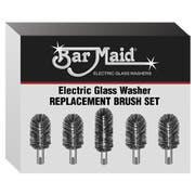 Bar Maid Brush Set, 6 inch -- 5 per case.