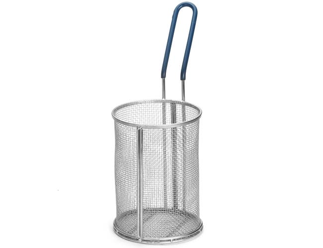 Tablecraft Stainless Steel Small Pasta Boil Basket, 5.25 x 7 inch -- 1 each.
