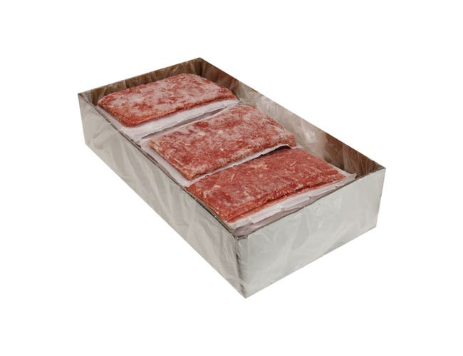 Advance Food Traditional Food Starch Marinated Flat Steak, 6 Ounce -- 27 per case.