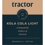 Tractor Organic Cola Light Soda Syrup, 2.5 Gallon -- 1 each.