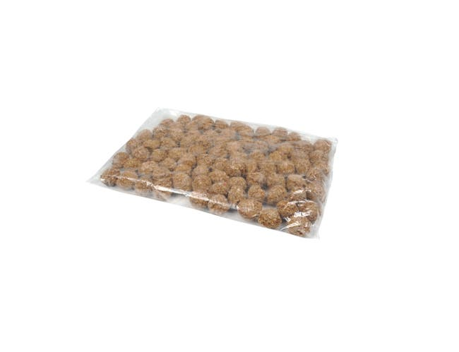 Advance Food Beef Meatball, 0.50 Ounce -- 320 per case.