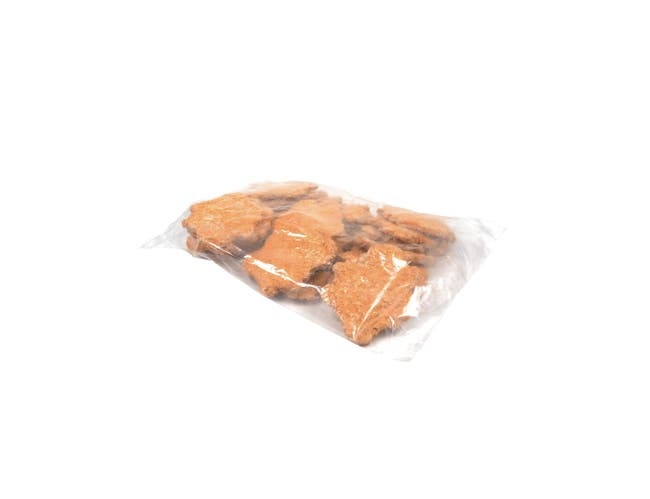 Advance Food Breaded Beef and Turkey Patties, 4 Ounce -- 40 per case.