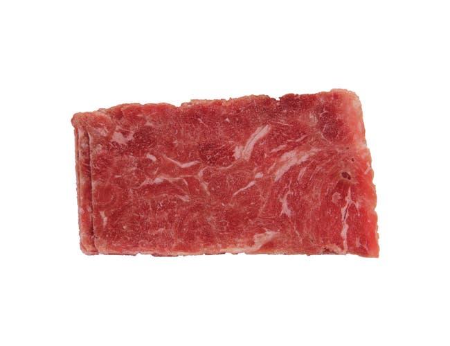 Advance Food Company Steak-EZE Traditional Marinated Flat Beef Steak, 8 Ounce -- 20 per case.