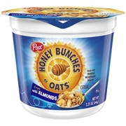 Honey Bunches of Oats Almond Cereal Cup, 2.25 Ounce -- 12 per case.