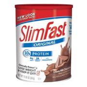Slim Fast Optima Milk Chocolate Powder Shake Mix, 12.83 Ounce -- 3 per case.