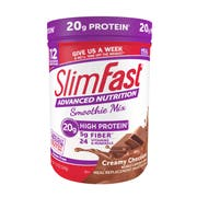 SlimFast Creamy Chocolate Advanced Smoothie Mix, 11.4 Ounce -- 2 per case