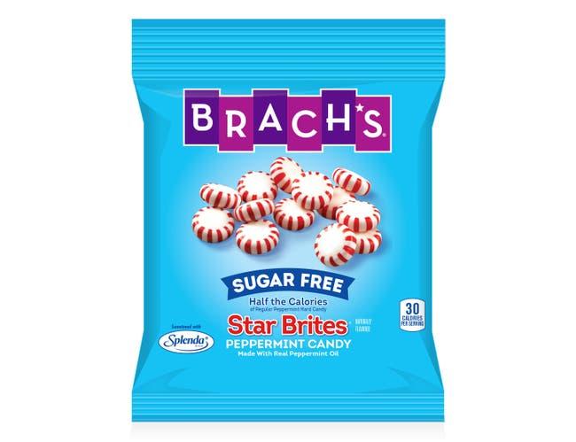 Brachs Sugar Free Star Brites - 3.5 oz. bag, 12 per case