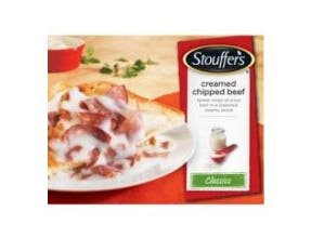 Stouffers Creamed Chipped Beef, 6 Pound -- 4 per case.