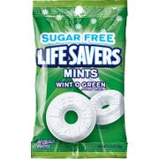 Life Savers Sugar Free Mints Wint O Green, 2.75 ounce -- 12 per case