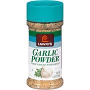 Lawrys Garlic Powder, 5.5 Ounce -- 12 per case.