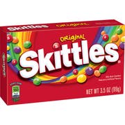 Skittles Original Candy, 3.5 Ounce. -- 12 per case.