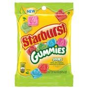 Starburst Sour Gummy Candy - Peg Bag, 5.8 Ounce -- 12 per case.