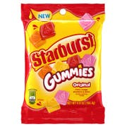 Starburst Original Gummy Candy - Peg Bag, 5.8 Ounce -- 12 per case.