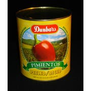 Moody Dunbar Diced Peeled Pimiento - no.10 can, 6 cans per case