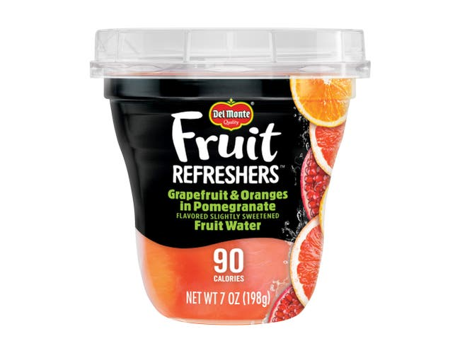 Delmonte Fruit Refreshers Grapefruit and Oranges In Pomegranate Fruit Water, 7 Ounce -- 12 per case.
