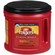 Folgers Caffeinated Classic Roast Ground Coffee, 30.5 Ounce -- 6 per case.