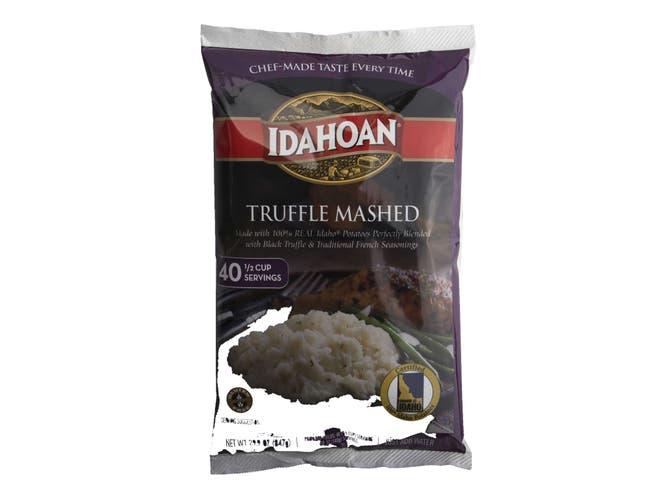 Idahoan Foods Truffle Mashed Potatoes, 29.9 Ounce Pouch -- 8 per case.