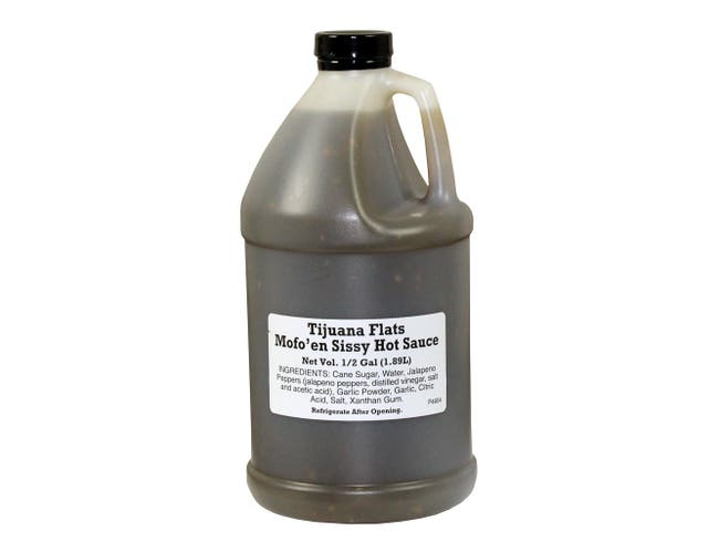 Original Juan Mofoen Sissy Hot Sauce, 64 Fluid Ounce -- 4 per case.
