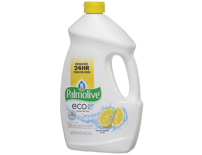Palmolive Eco Plus Lemon Splash Dishwasher Gel, 45 Ounce -- 9 per case.