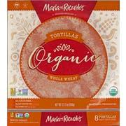 Maria and Ricardos Organic Whole Wheat Flour Tortilla, 12.13 Ounce -- 8 per case.