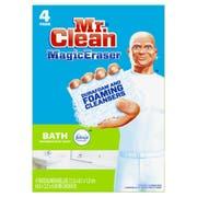 Mr. Clean Magic Eraser Bath Scrubber, 4 count per pack -- 8 per case.