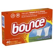 Bounce Outdoor Fresh Fabric Softener Dryer Sheet, 40 count per pack -- 12 per case.