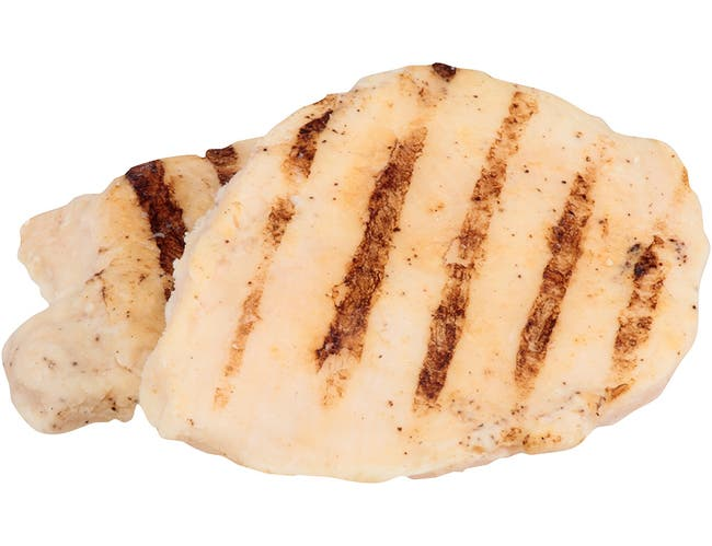 Dutch Quality House Naturelle Fully Cooked Seasoned and Grill Marked Chicken Breast Fillets, 3.25 Ounce -- 1 each.