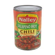 Nalley Jalapeno Hot Chili with Beans, 14 Ounce -- 24 per case