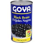 Goya Canned Black Beans, 47 Ounce -- 12 per case.