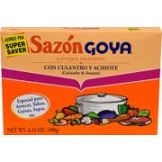 Goya Sazon with Corianto and Annatto - 6.33 oz. box, 15 per case