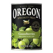 Oregon Fruit Gooseberries in Light Syrup, 15 Ounce -- 8 per case.