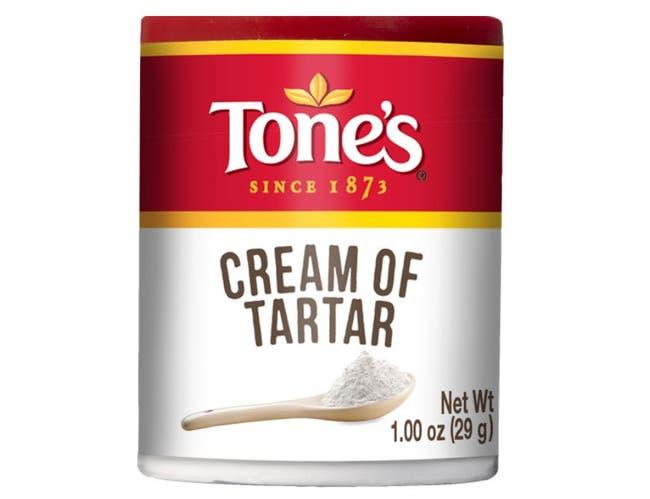 Tones Cream of Tartar - 1 oz. jar, 144 per case